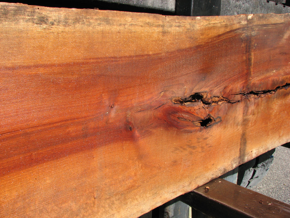 "Cherry, American #7049 (JS) - 1-3/4"" x 15-3/4"" to 23-1/2"" x 111"" FREE SHIPPING within the Contiguous US. - Big Wood Slabs"