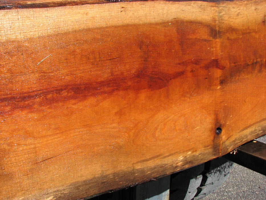 "Cherry, American #7050 (JS) - 1-1/2"" x 12-1/2"" to 18"" x 111"" FREE SHIPPING within the Contiguous US. - Big Wood Slabs"