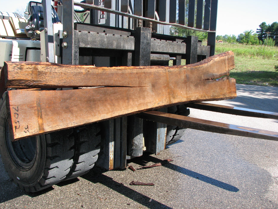 "Cherry, American #7052 (JS) - 1-1/2"" x 11"" to 19"" x 102"" FREE SHIPPING within the Contiguous US. - Big Wood Slabs"