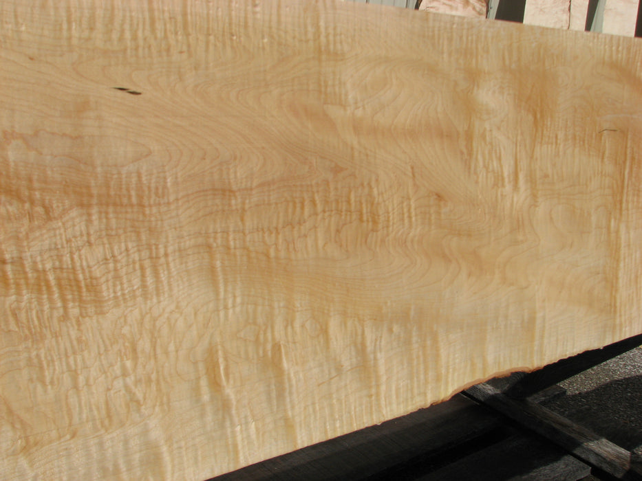 "Maple, Curly #7095(JW) - 1-1/4"" x 4"" to 15"" x 104"" FREE SHIPPING within the Contiguous US. - Big Wood Slabs"