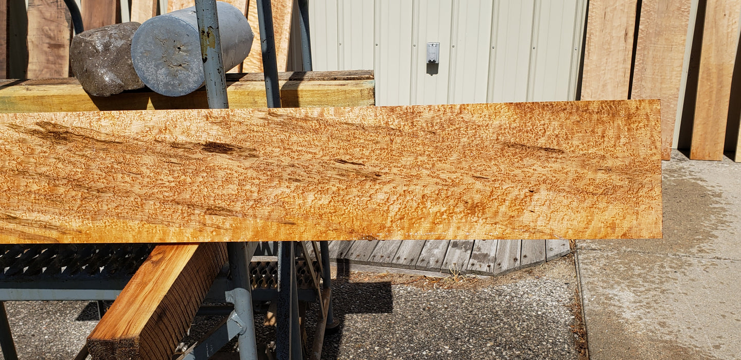 "Maple, Birds Eye - Natural #7253(OC) - 15/16"" x 6-1/2"" x 72"" FREE SHIPPING within the Contiguous US. - Big Wood Slabs"