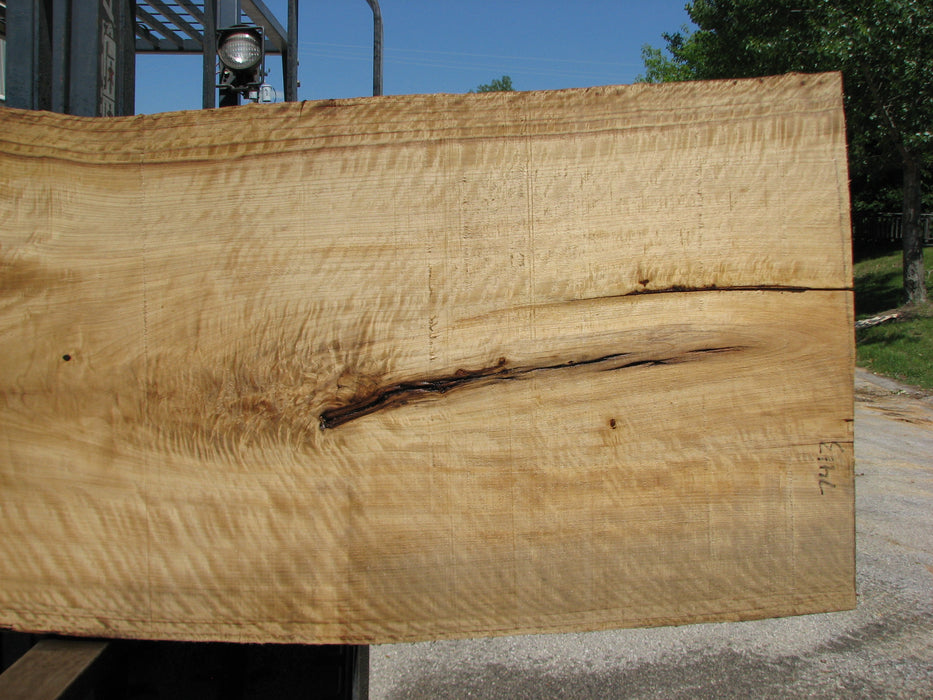 "Cottonwood #7413(OC) - 2-3/4"" x 29"" to 40"" x 141"" FREE SHIPPING within the Contiguous US. - Big Wood Slabs"