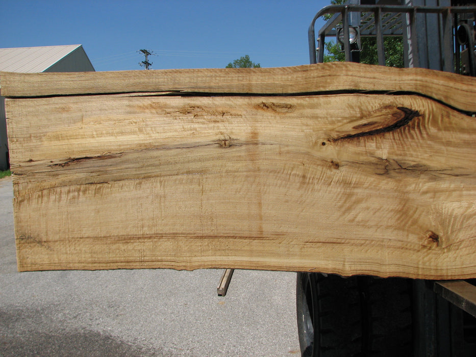 "Cottonwood #7418(OC) - 2-1/4"" x 25"" to 30""and 3""-6"" strip x 174"" FREE SHIPPING within the Contiguous US. - Big Wood Slabs"
