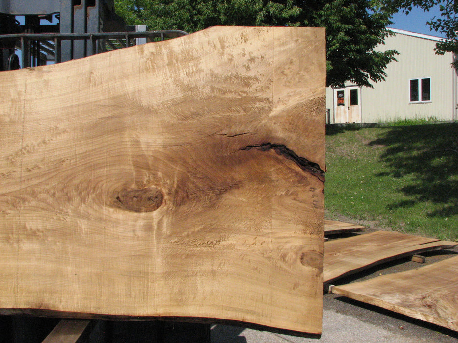 "Cottonwood #7424(OC) - 2-1/4"" x 37"" to 49"" x 117"" FREE SHIPPING within the Contiguous US. - Big Wood Slabs"