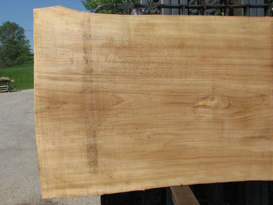 "Cottonwood #7425(OC) - 2-1/2"" x 40"" to 50"" x 109"" FREE SHIPPING within the Contiguous US. - Big Wood Slabs"