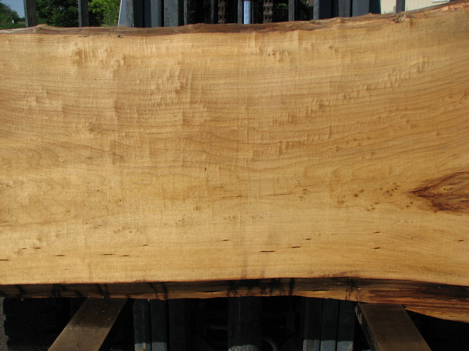 "Cottonwood #7432(OC) - 2-1/2"" x 26"" to 33"" x 118"" FREE SHIPPING within the Contiguous US. - Big Wood Slabs"