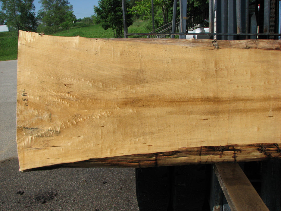 "Cottonwood #7434(OC) - 2-1/4"" x 18"" to 29"" x 122"" FREE SHIPPING within the Contiguous US. - Big Wood Slabs"