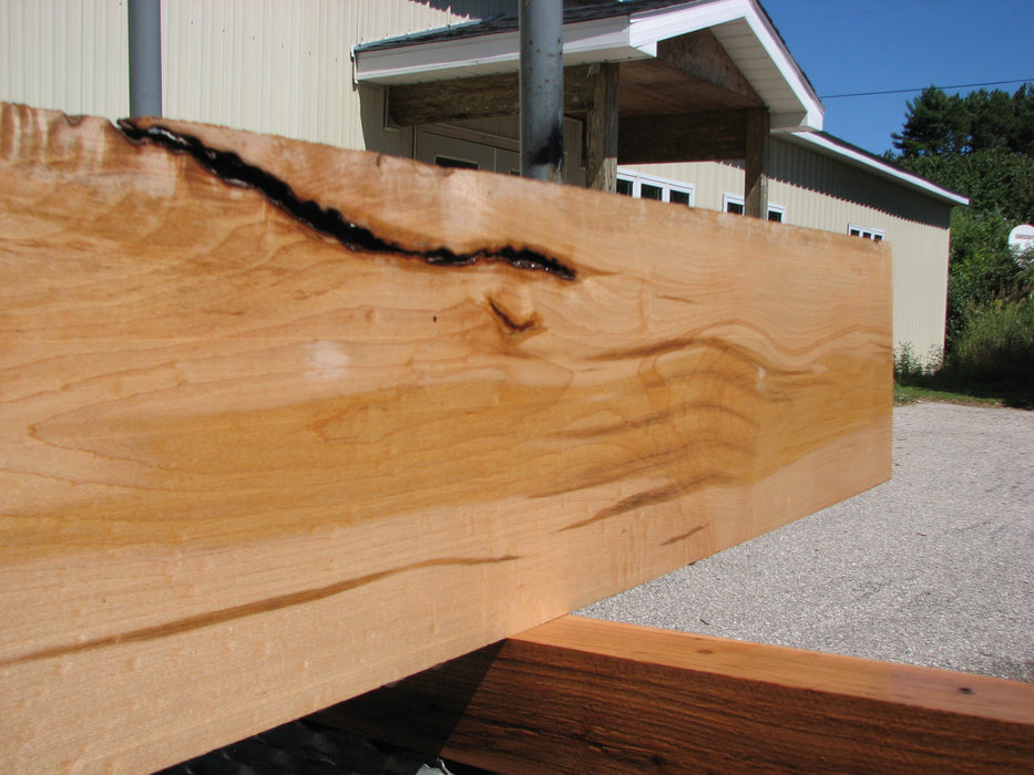 "Maple #7456 - 3/4"" x 9"" x 71"" FREE SHIPPING within the Contiguous US. - Big Wood Slabs"