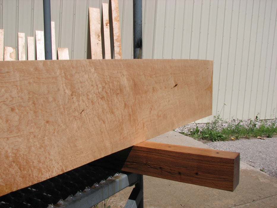 "Maple #7463 - 3/4"" x 8"" x 64"" FREE SHIPPING within the Contiguous US. - Big Wood Slabs"