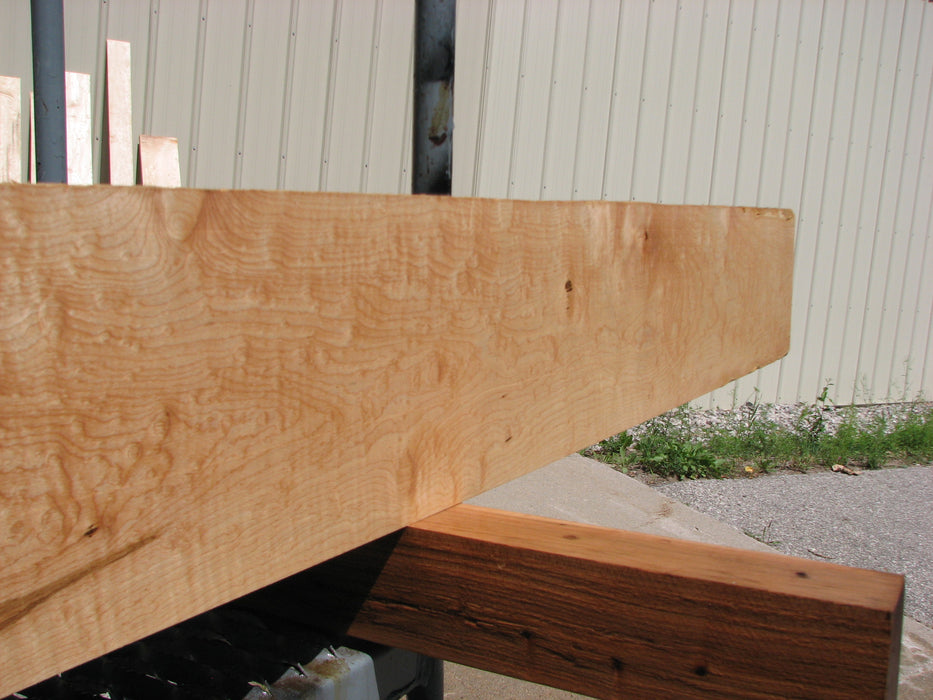 "Maple #7466 - 3/4"" x 7"" x 80"" FREE SHIPPING within the Contiguous US. - Big Wood Slabs"