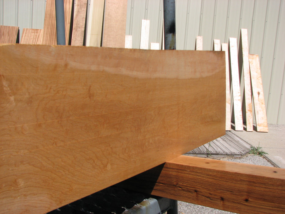 "Maple #7467 - 3/4"" x 8"" x 43"" FREE SHIPPING within the Contiguous US. - Big Wood Slabs"