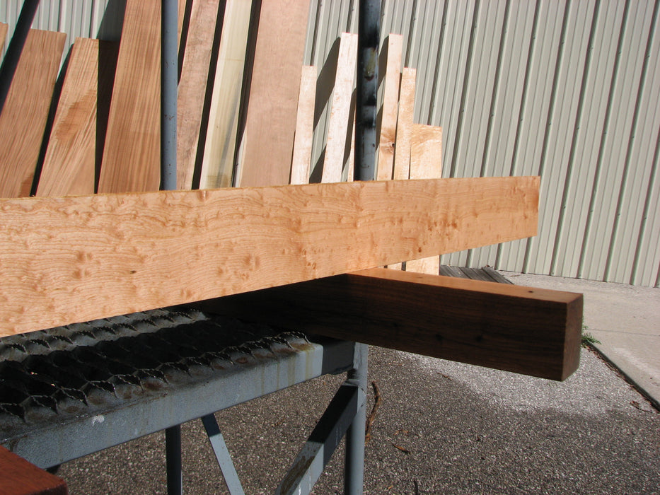 "Maple #7474 - 3/4"" x 3"" x 62"" FREE SHIPPING within the Contiguous US. - Big Wood Slabs"