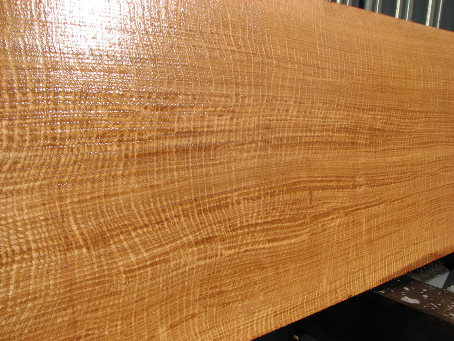 "Oak, White - #7611 (OC) - 3/4"" x 12-1/4"" x 81"" FREE SHIPPING within the Contiguous US. - Big Wood Slabs"