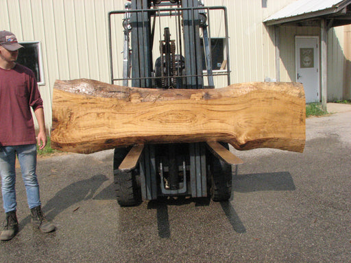 "Cottonwood #7618(ROC) - 2-3/4"" x 11"" to 19"" x 89"" (Back side is 18""-26"" wide) FREE SHIPPING within the Contiguous US. - Big Wood Slabs"