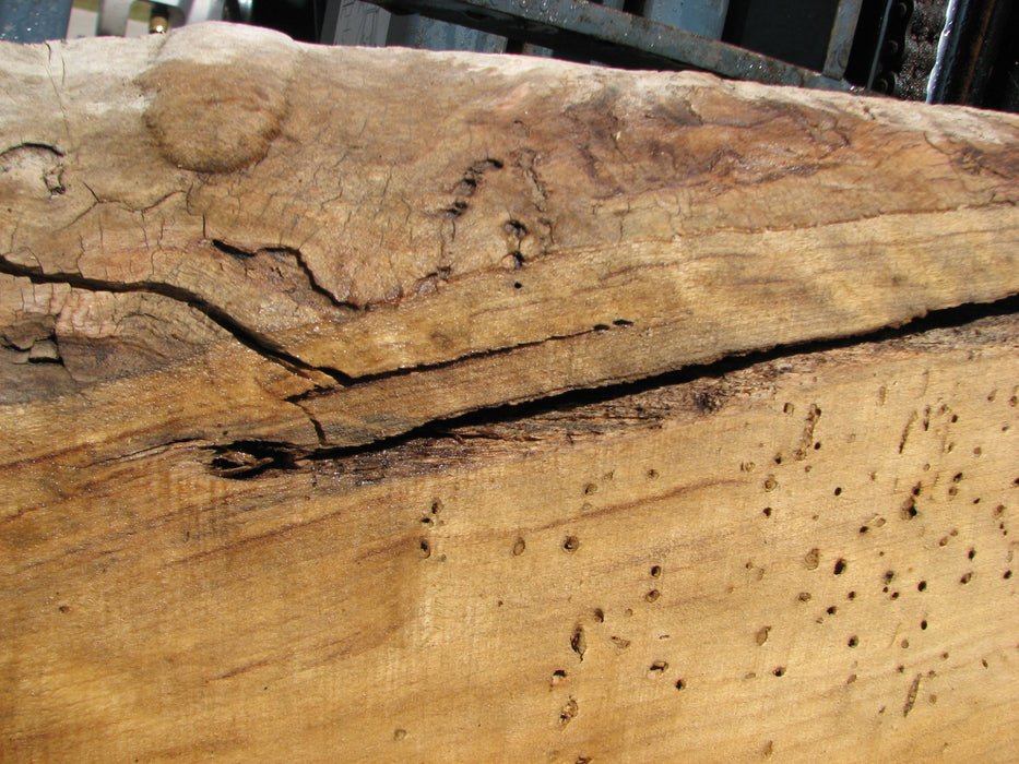 "Cottonwood #7628(ROC) - 2-1/4"" x 25"" x 63"" FREE SHIPPING within the Contiguous US. - Big Wood Slabs"