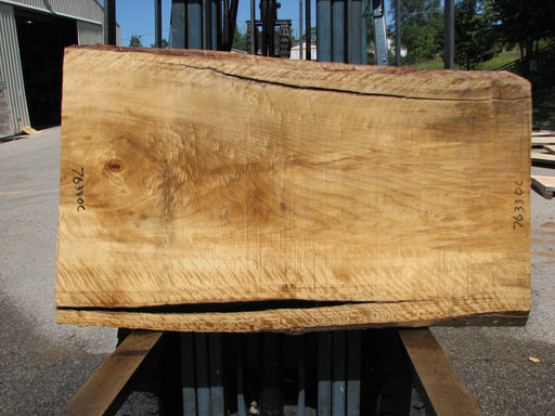 "Cottonwood #7633(ROC) - 2-1/2"" x 27"" to 33"" x 55"" FREE SHIPPING within the Contiguous US. - Big Wood Slabs"