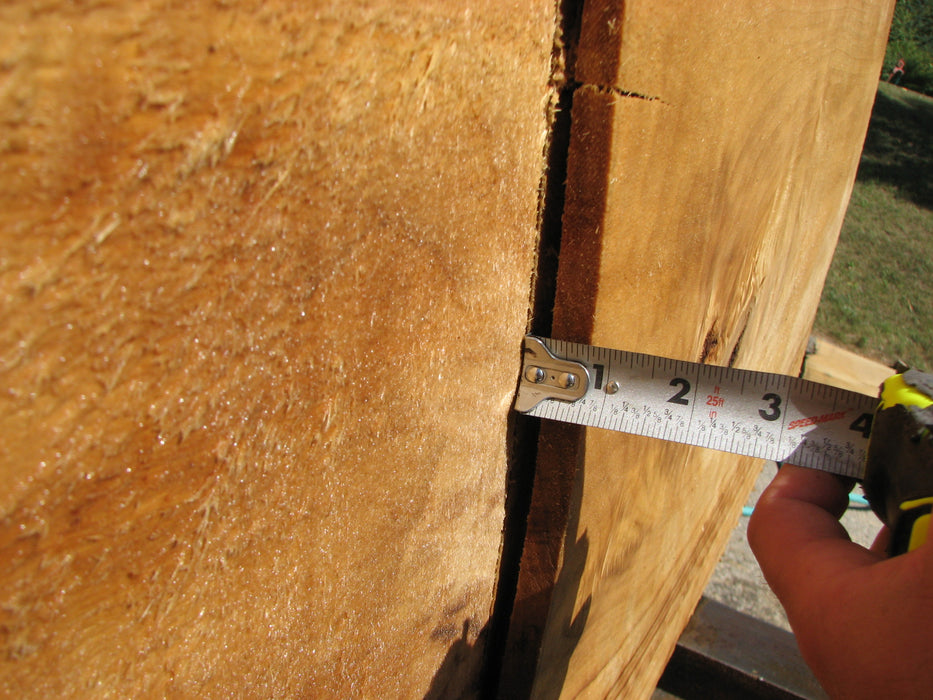 "Cottonwood #7634(ROC) - 2-1/2"" to 3"" x 15"" to 28"" x 61"" FREE SHIPPING within the Contiguous US. - Big Wood Slabs"