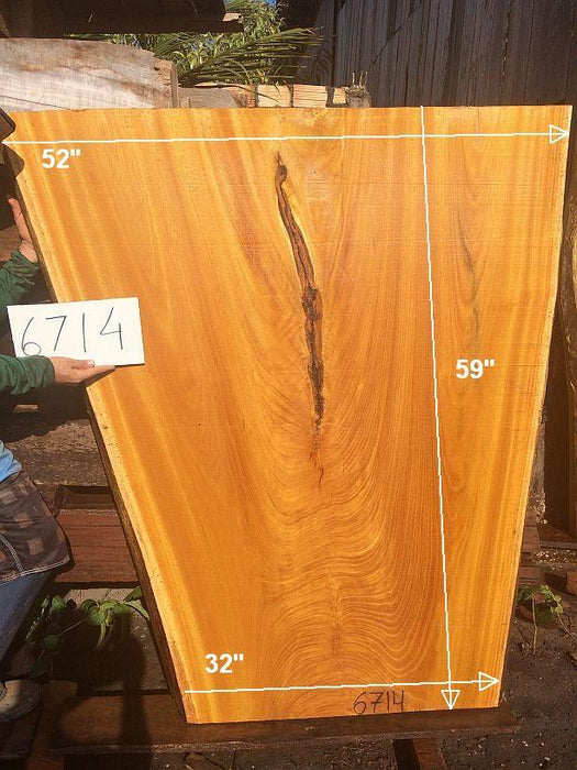 "Tatajuba - 2 3/4"" x 32"" to 52"" x 59"" - Big Wood Slabs"