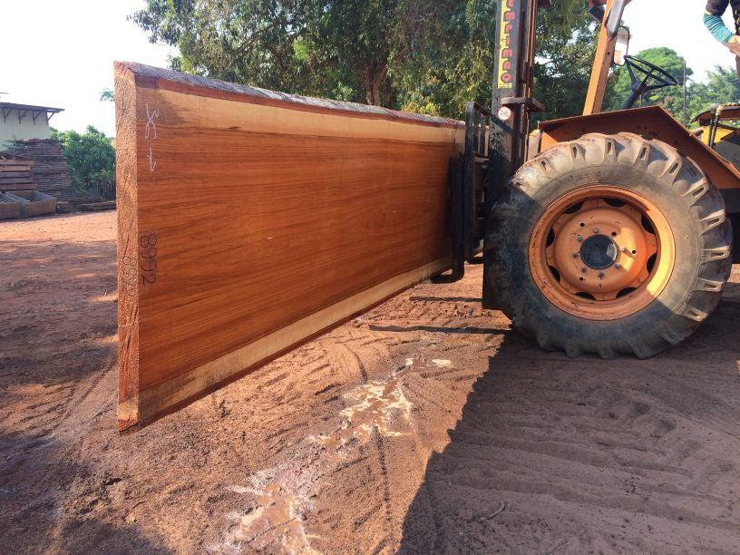 Jatoba-Brazilian Cherry – 2 5/8″ x 36″ to 54″ x 286″ - Big Wood Slabs
