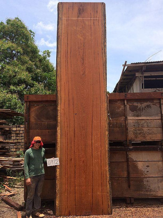 "Angelim Pedra #6972 - 2"" X 47"" X 204"" FREE SHIPPING within the Contiguous US. - Big Wood Slabs"