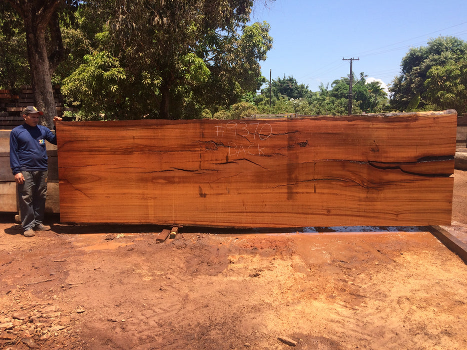 "Angelim Pedra # 9370 - 7-1/2"" x 54"" to 59"" x 204"" - Big Wood Slabs"
