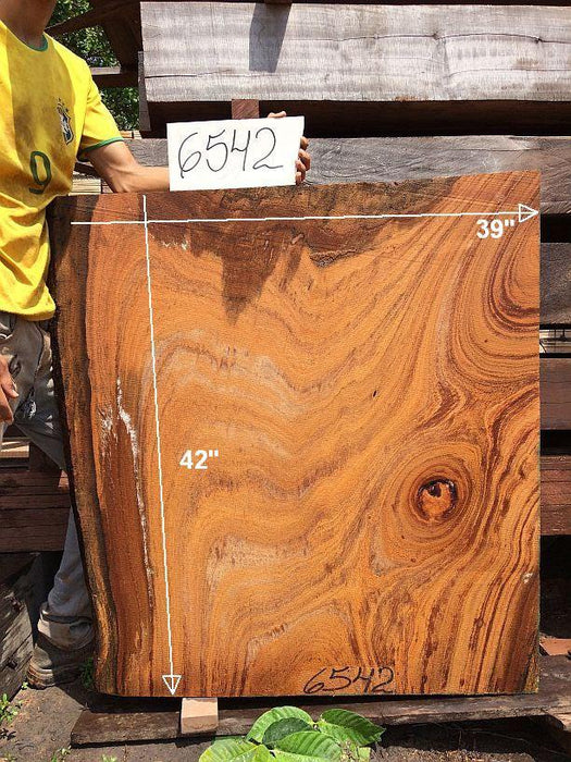 "Angelim Pedra - 2-1/2"" x 37"" to 39"" x  42"" - Big Wood Slabs"