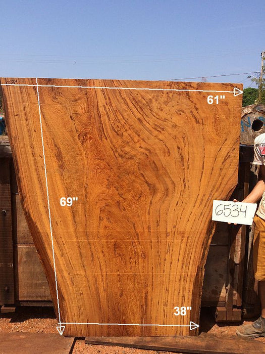 "Angelim Pedra - 2-1/2"" x 38"" to 61"" x 69"" - Big Wood Slabs"