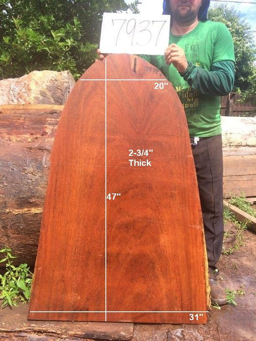 "Angelim Pedra - 2-3/4"" x 31"" x 47"" - Big Wood Slabs"