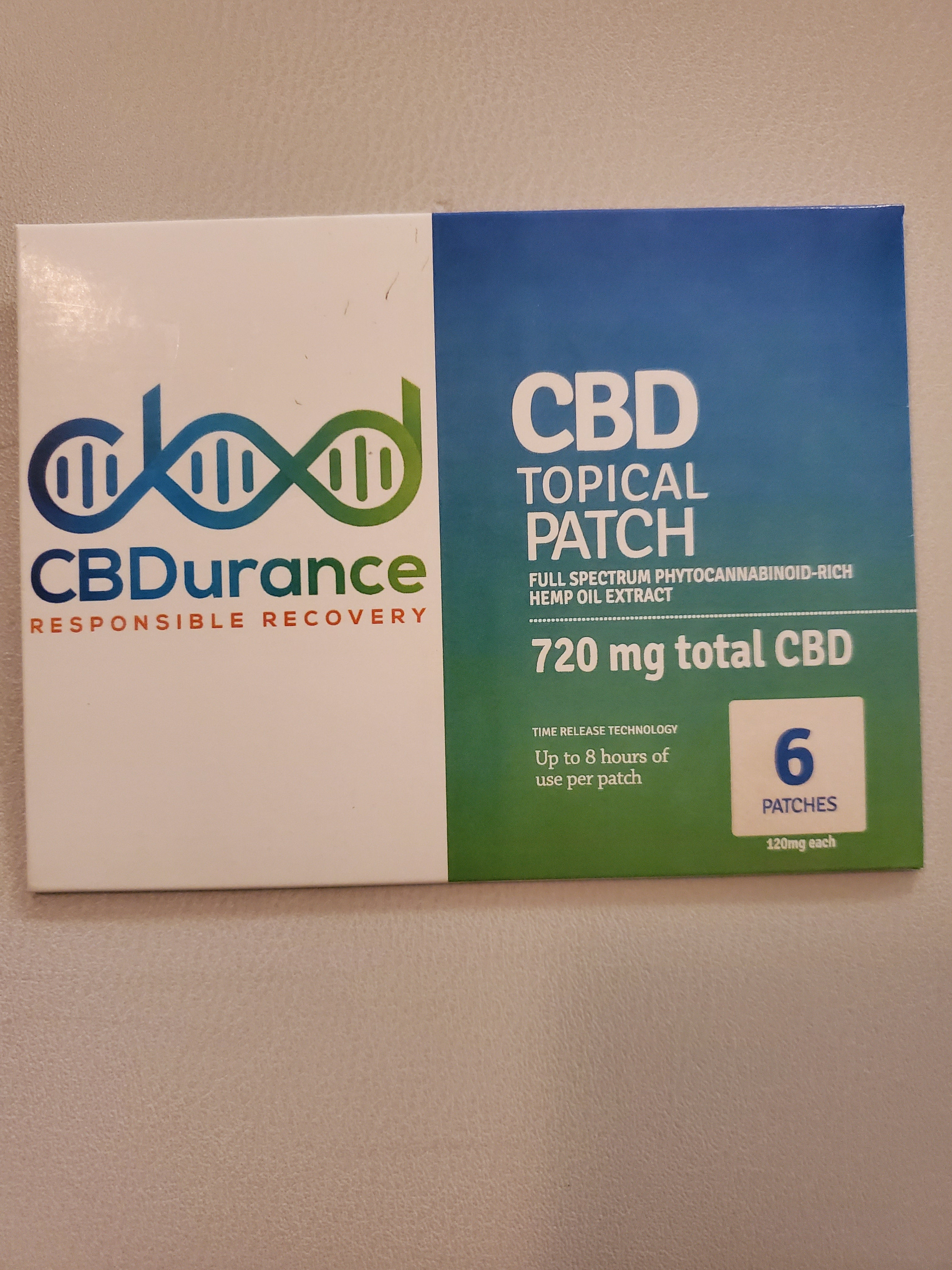 120 mg CBD Patch
