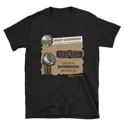 Astatic Biscuit Microphone T-shirt