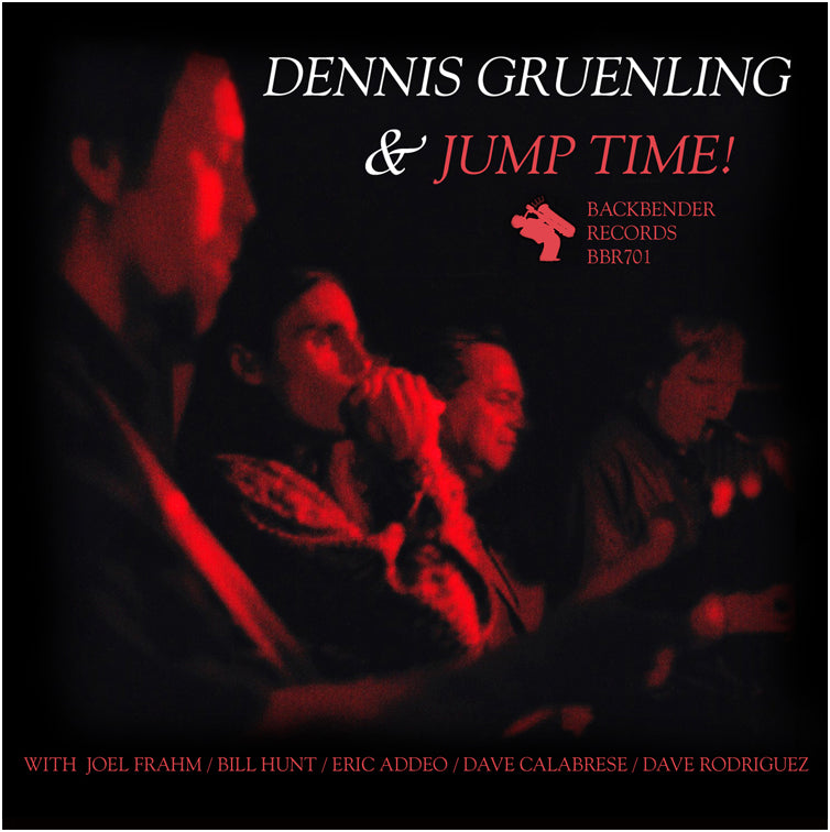 Dennis Gruenling & Jump Time! - music CD