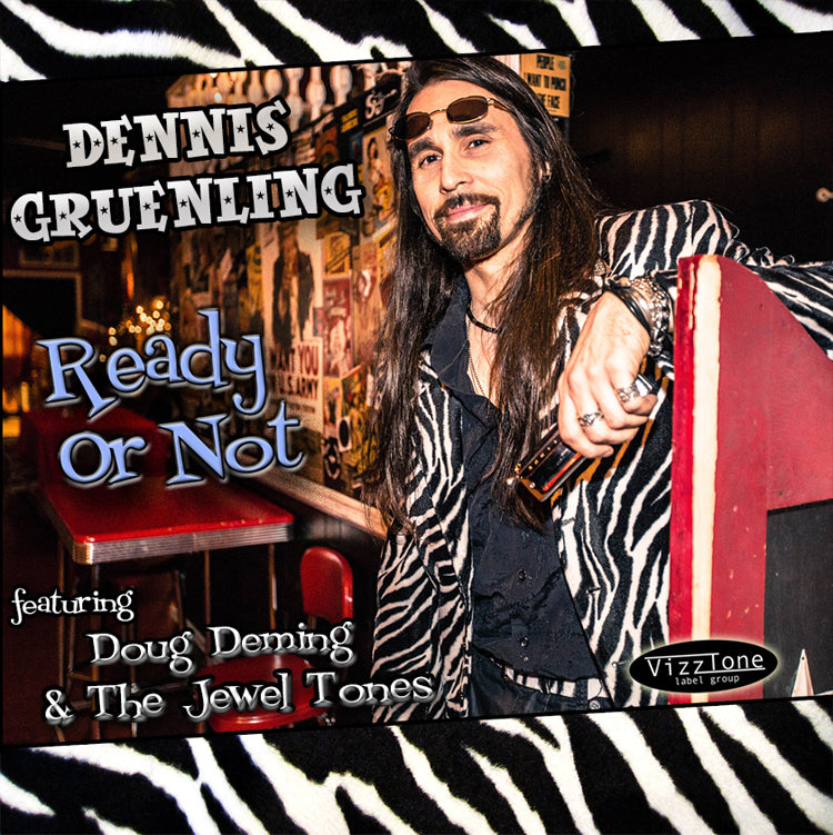 Dennis Gruenling - Ready Or Not - music CD
