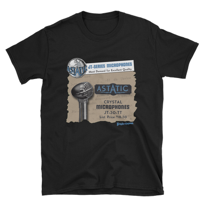 Astatic JT-30 Microphone T-shirt