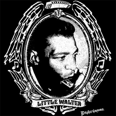 Little Walter crest T-shirt