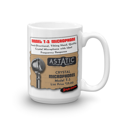 Astatic T-3 Big Coffee Mug (15oz)