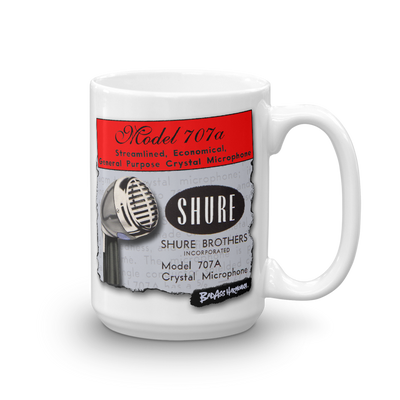 Shure 707A Big Coffee Mug (15oz)