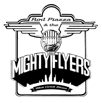 Rod Piazza & Mighty Flyers T-shirt (White)