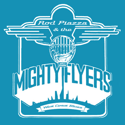 Rod Piazza & Mighty Flyers T-shirt (blue)
