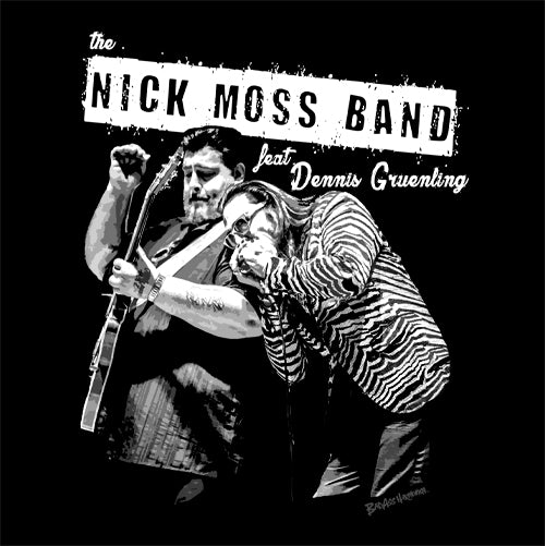 Women's Nick Moss Band & Dennis Gruenling T-shirt