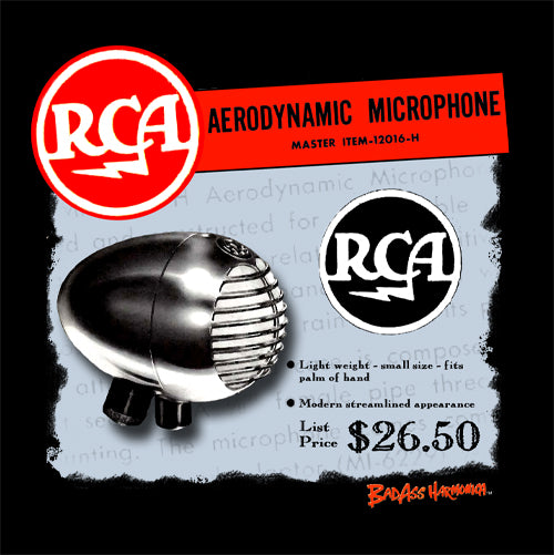 Women's RCA Aerodynamic Microphone T-shirt