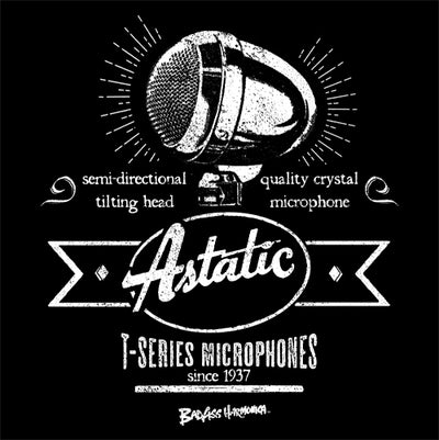 Astatic T-3 Retro Microphone T-shirt