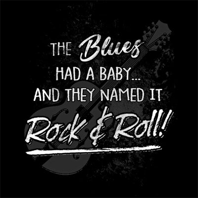 Blues Had a Baby T-Shirt