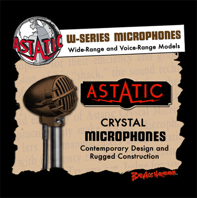 Astatic W-Series Microphone T-shirt
