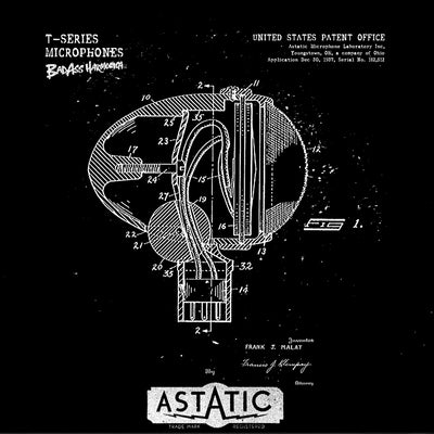 Astatic T-3 Patent Microphone T-shirt