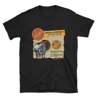 Universal Bullet Microphone T-shirt