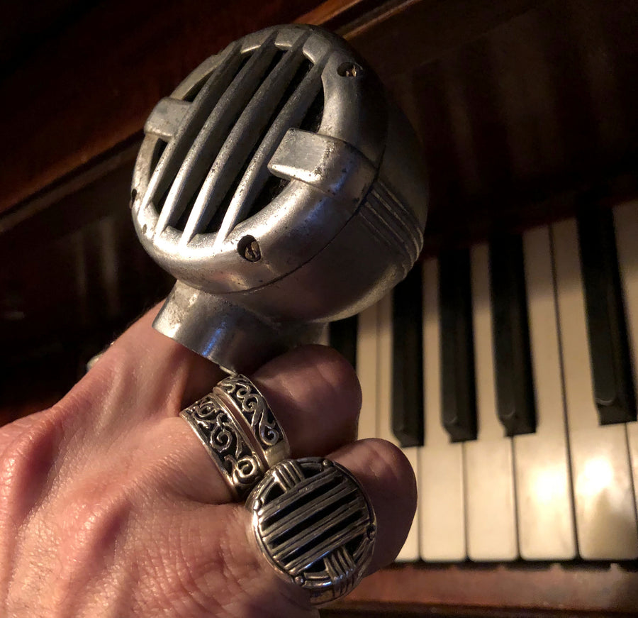 Universal Microphone Ring (sterling silver)