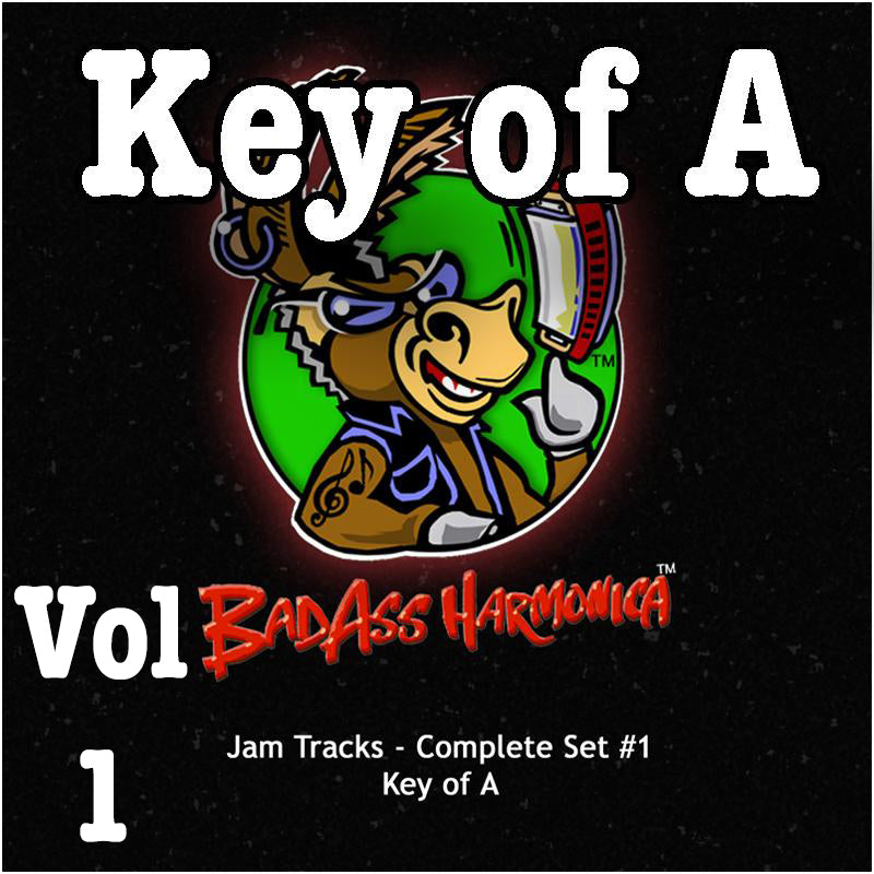 Jam Tracks Vol 1, Key of A, download