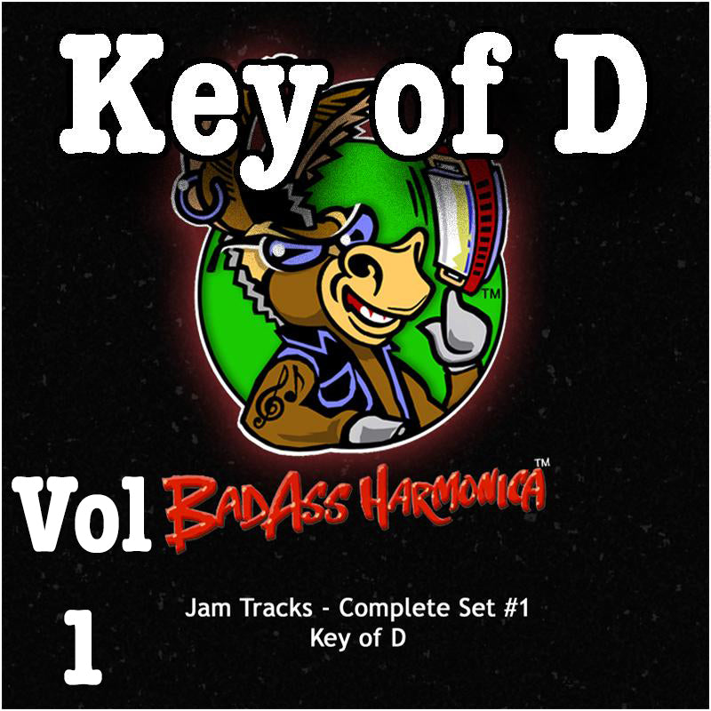 Jam Tracks Vol 1, Key of D, download