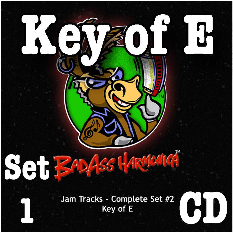 Jam Tracks Vol 1, Key of E, Audio CD