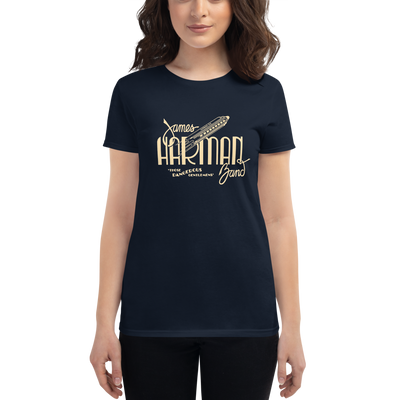 Women's James Harman Band NAVY T-shirt